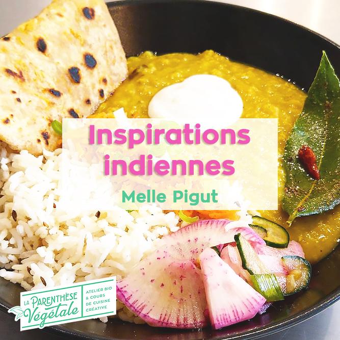 Cours en ligne Inspirations indiennes