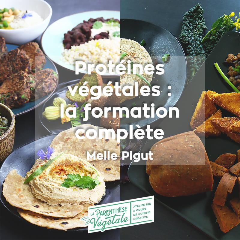 Formation en ligne protéines végétales