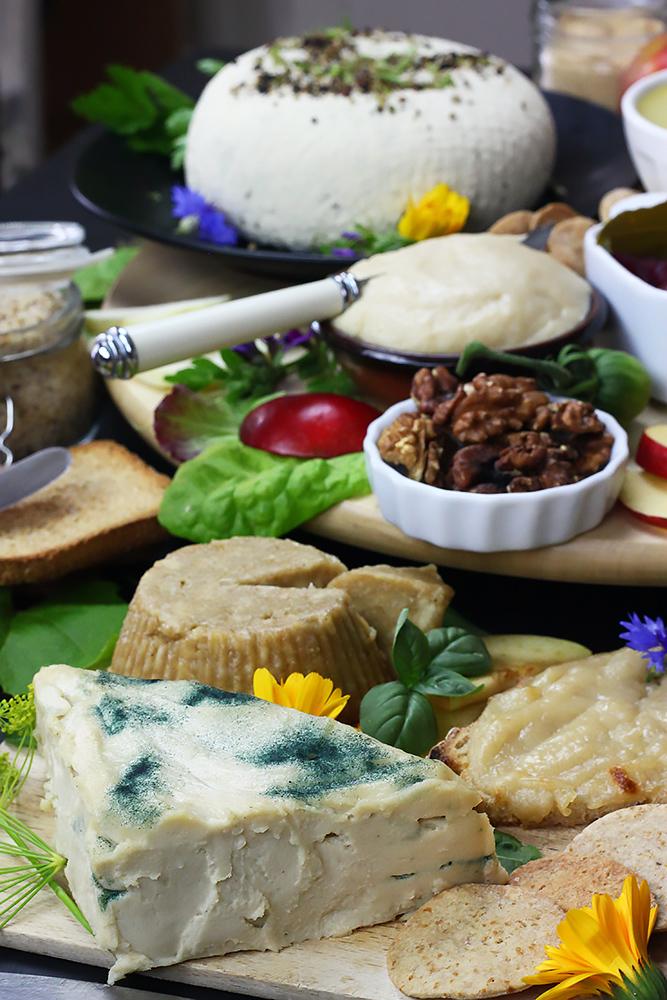 Fromages et accompagnements 100% végétaux
