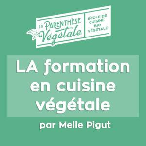 Formation globale en cuisine végétale en ligne