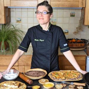 Melle Pigut et ses tartes végétales